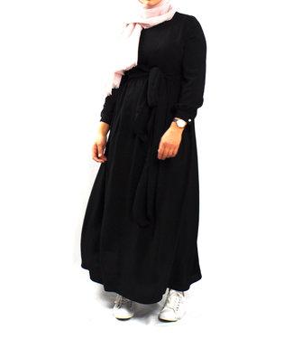 Wrap dress - Black