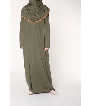Ahuse Gebedsjurk met hijab - Khaki