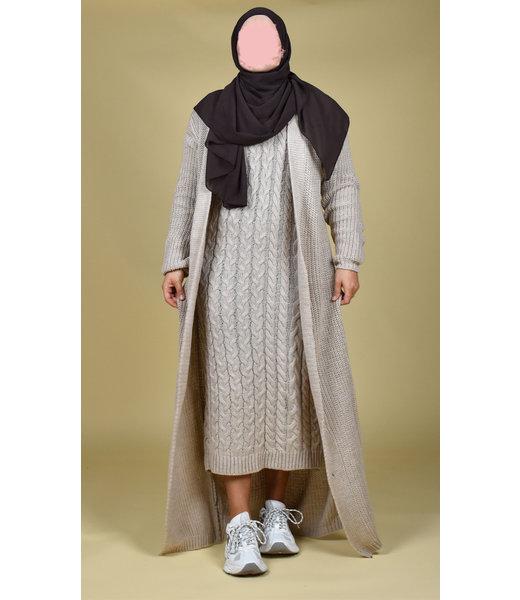 Knitted set - Beige