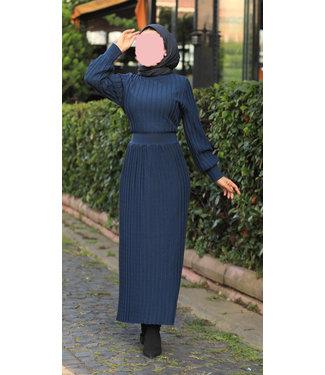 Dress - Navy Blue