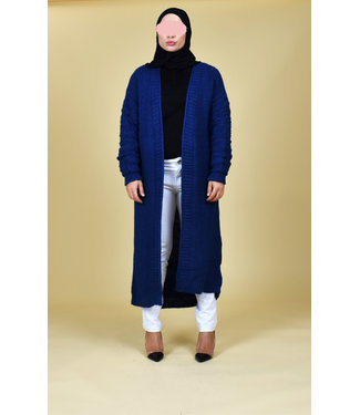 Long cardigan - Blue
