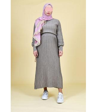Dress - Beige