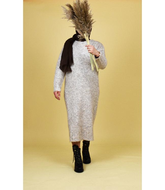 Mohair dress - Beige