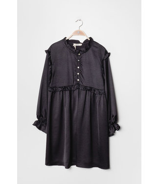 Tunic with ruffles - Black