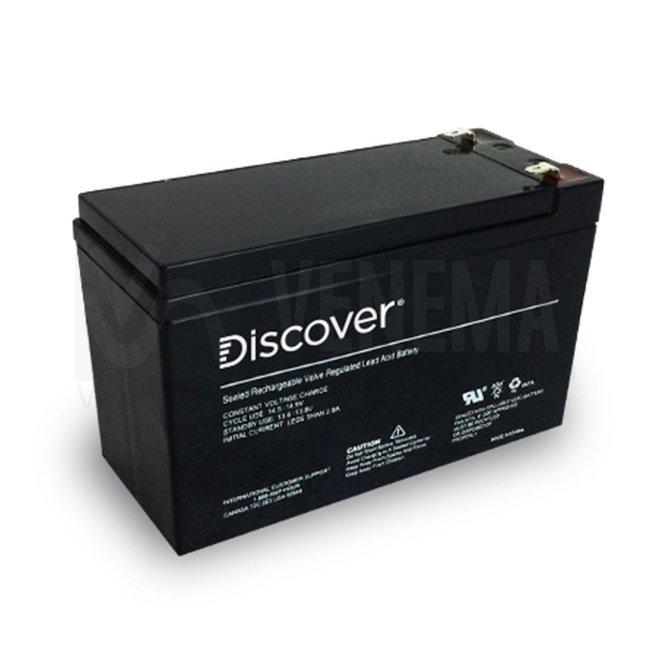 Discover Cyclische AGM accu (onderhoudsvrij)