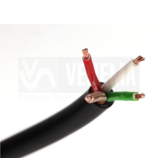 Ripca Meervoudige kabel rond 4x1.0mm2 - 50 meter