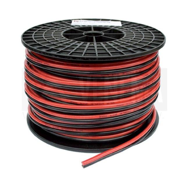 DG Rubber Twinflex accukabel rood/zwart