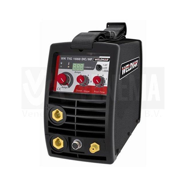 Weldkar Lasinverter WK TIG 1660 DC/HF Pulse