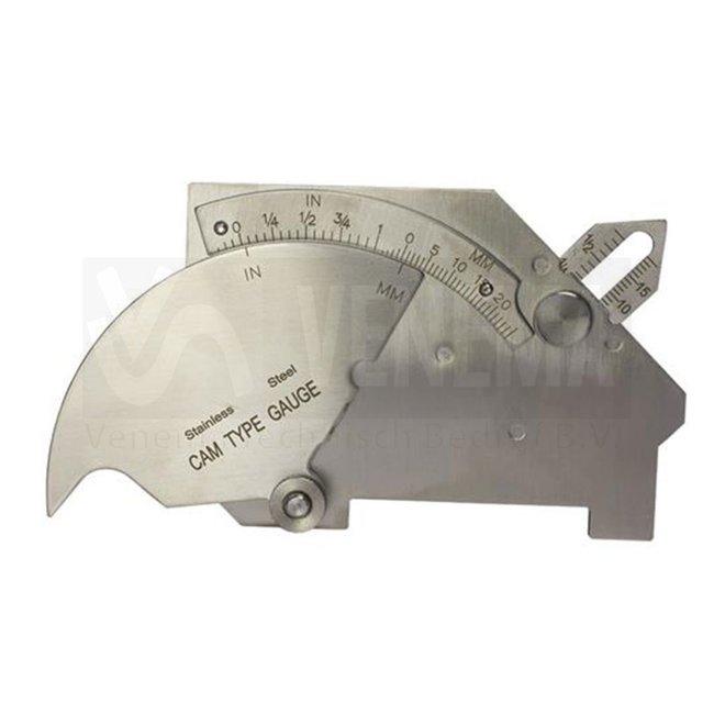 Weldkar Universele lashoekmeter WG-4 CAM