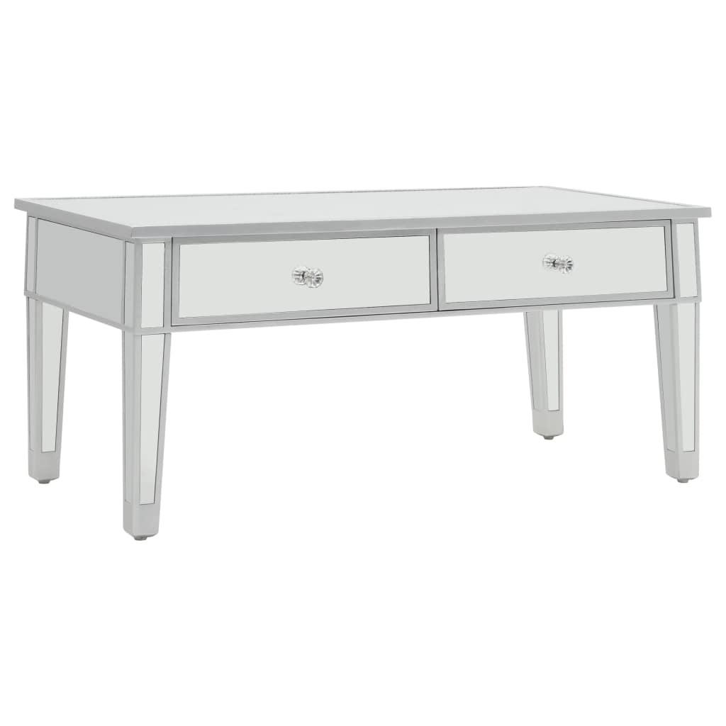 basse MDF verre x 50 45 100 cm et x Table miroir I2YH9EDW