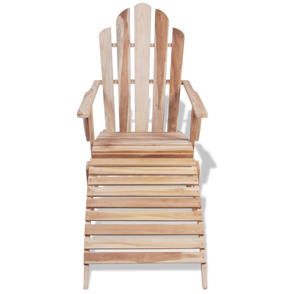 Coussin Pour Fauteuil Adirondack chaise adirondack bois de teck solide