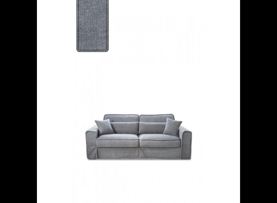 Bond Street Sofa 2.5 Seater SteelGr