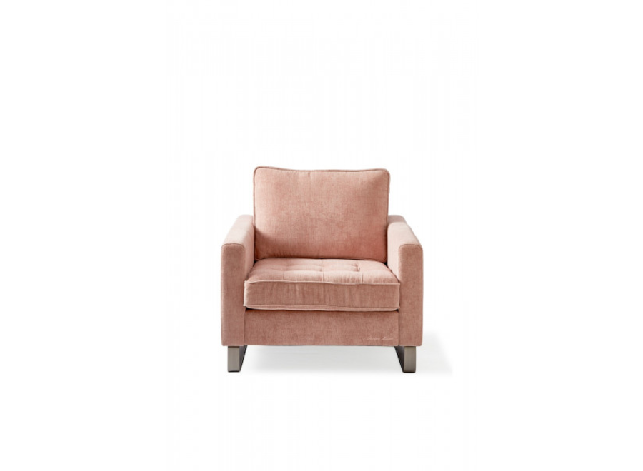 West Houston Armchair Velvet Blosso