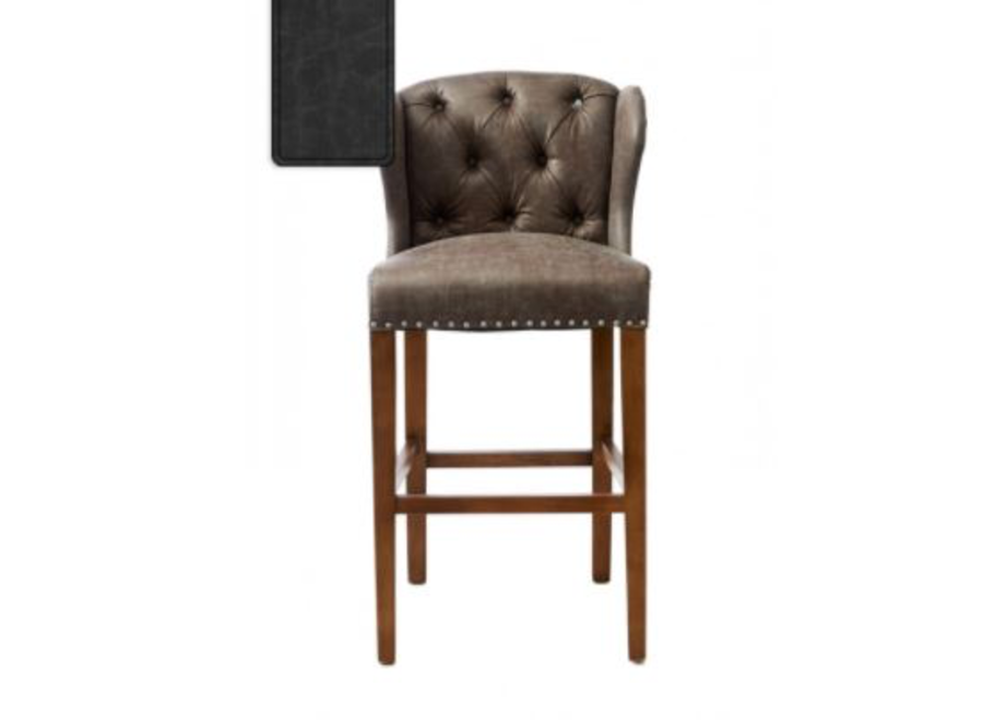 Keith Ii Lowback Barstool Pel Anthr