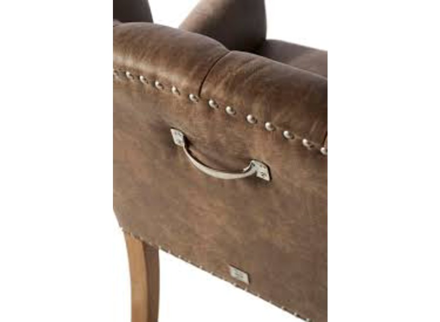 Keith Ii Lowback Armchair Pel Camel