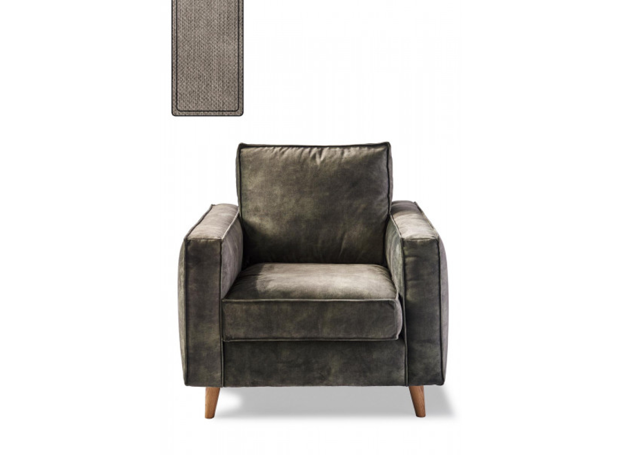 Kendall Armchair Cotton Stone