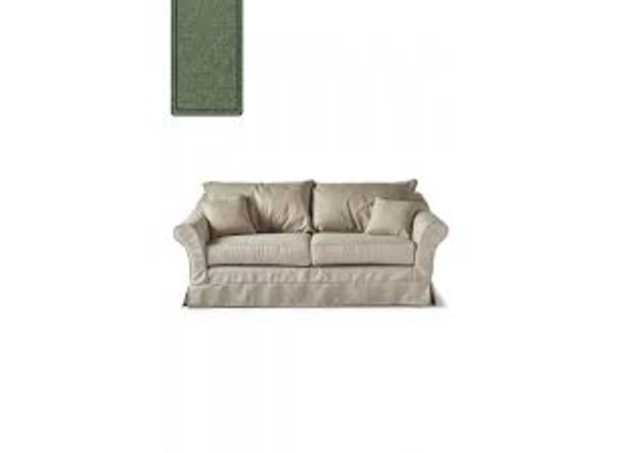 Bond Street Sofa 2.5 Seater FrGreen