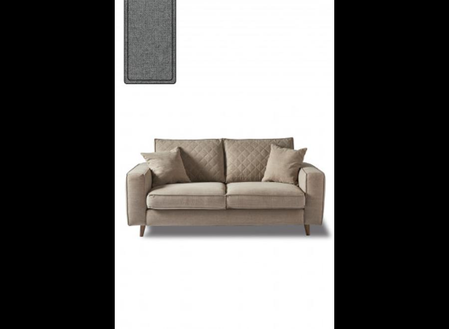 Kendall Sofa 2,5 S Steel Grey