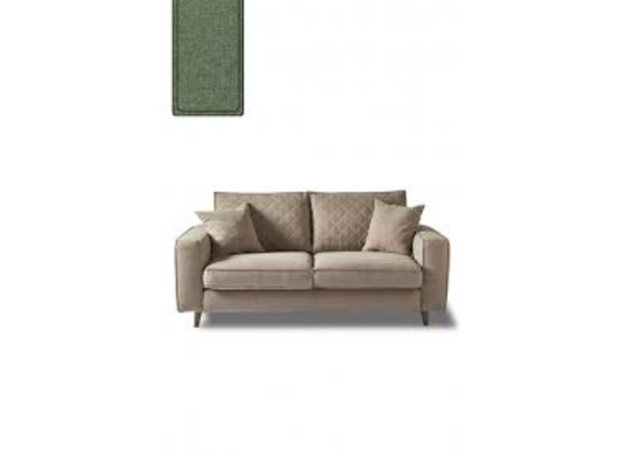Kendall Sofa 3,5 S Forest Green