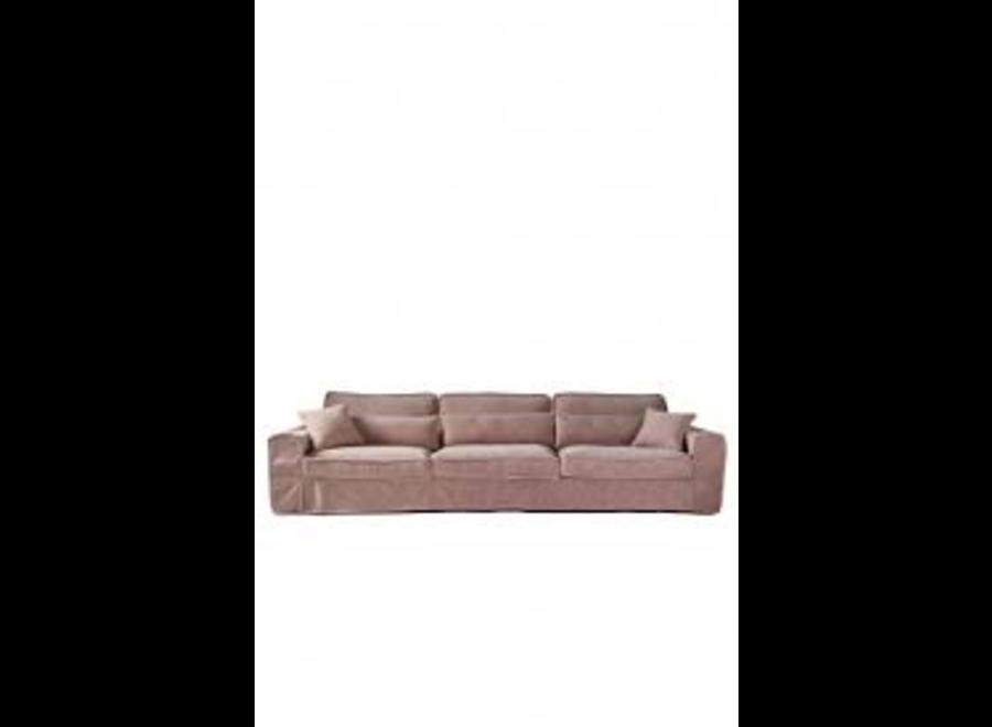 Metropolis Sofa XL Velvet Blossom