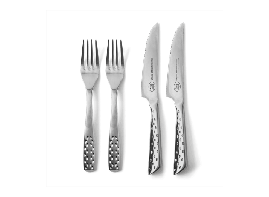 Deluxe Steak Knife Set - Set Of 2