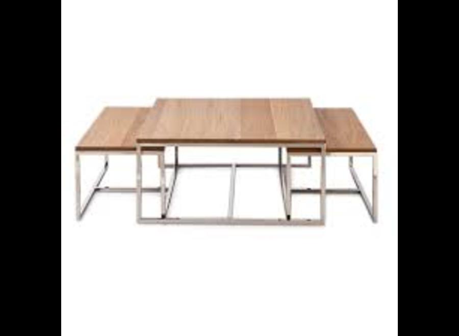 Monaco Coffee Table 90X90 S/3