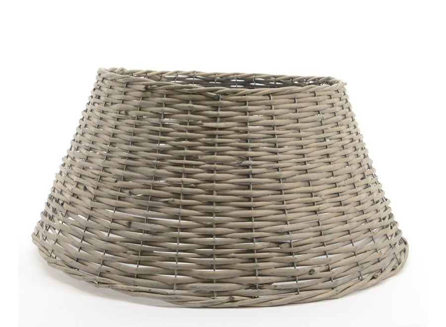 Willow Christmas Tree Ring - 70 cm - Grey Washed - Dia70X28 cm