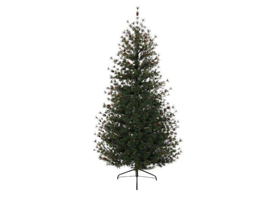 Carolina Fir Christmas Tree 210 cm (7Ft) - Green - 210 cm