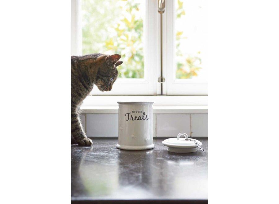 Kittie Treats Storage Jar