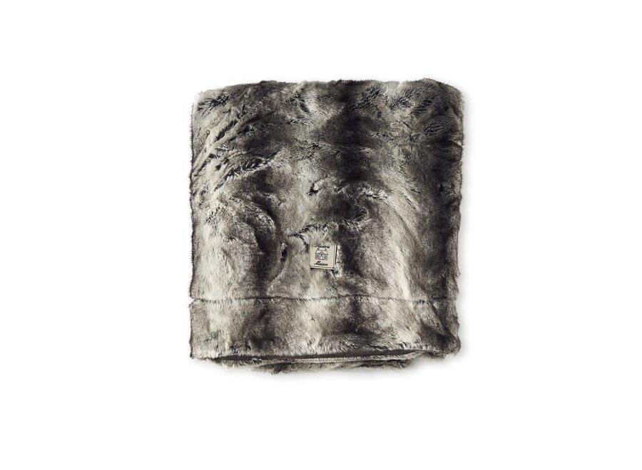 Happy Husky Faux Fur Throw 170X130