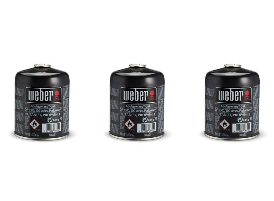 Disposable Gas Canister - 3-Pack