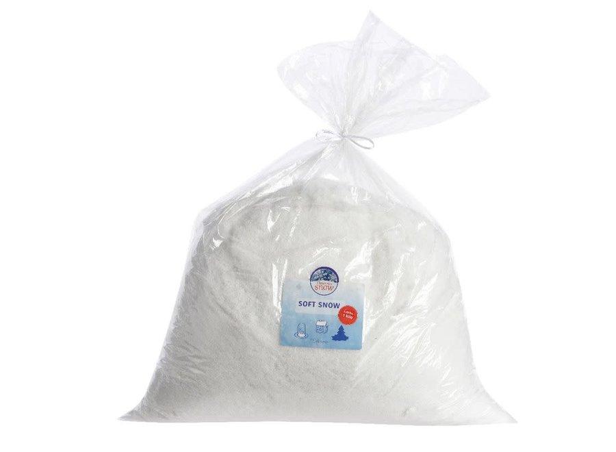 Bag Of Soft Snow - White - 1Kg