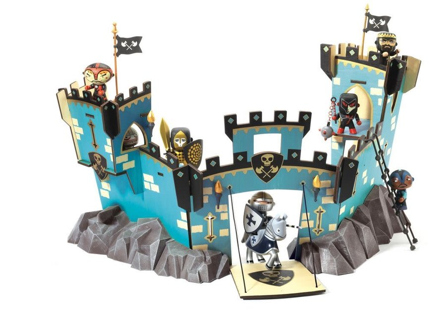 Arty Toys - Knights Castle On Ze Rock