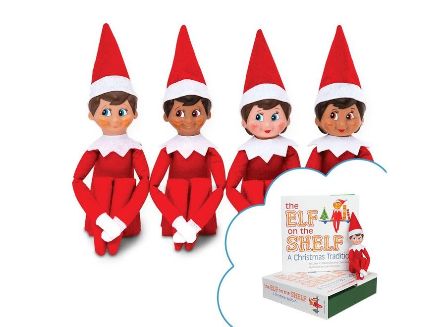Elf On The Shelf - Boy Dark