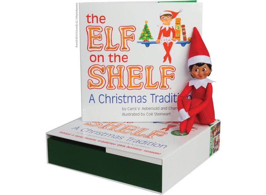 Elf On The Shelf - Girl Dark