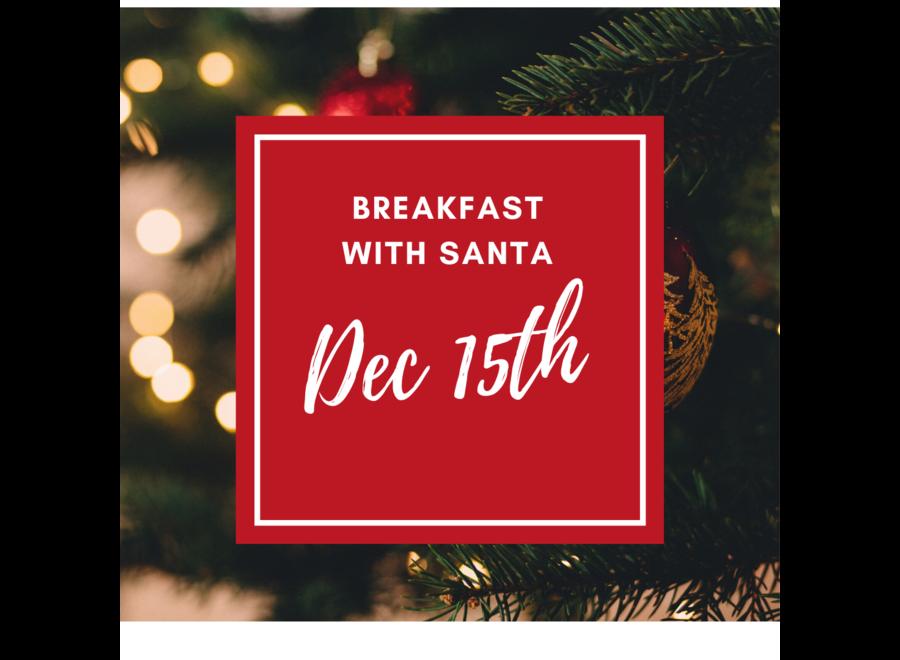 Breakfast With Santa - 15th Dec