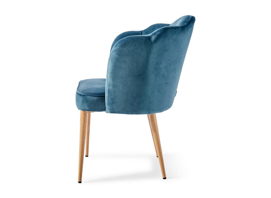 Lauderdale Dining Chair Vel Oc Blue
