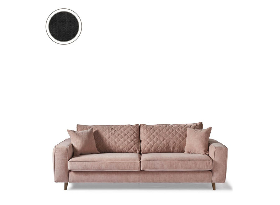 Kendall Sofa 3,5s Velvet Shadow