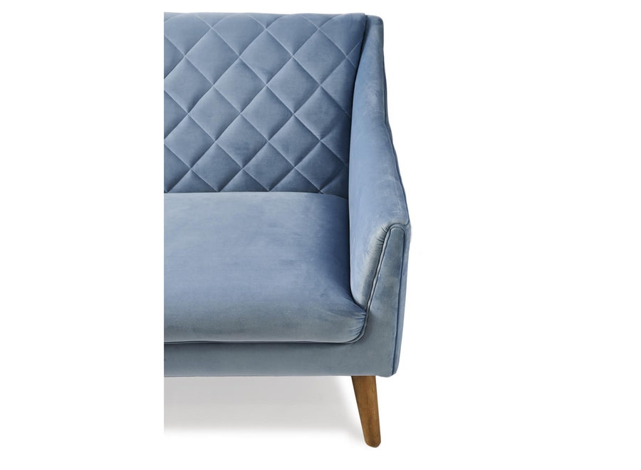 Contessa Sofa 3 Seater Velvet Icebl