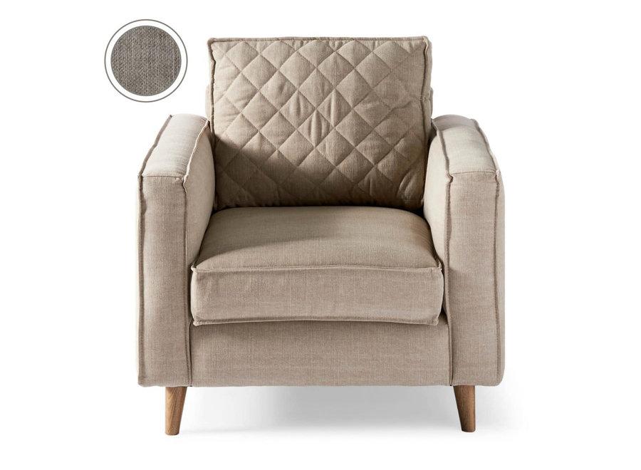 Kendall Armchair Cotton Stone