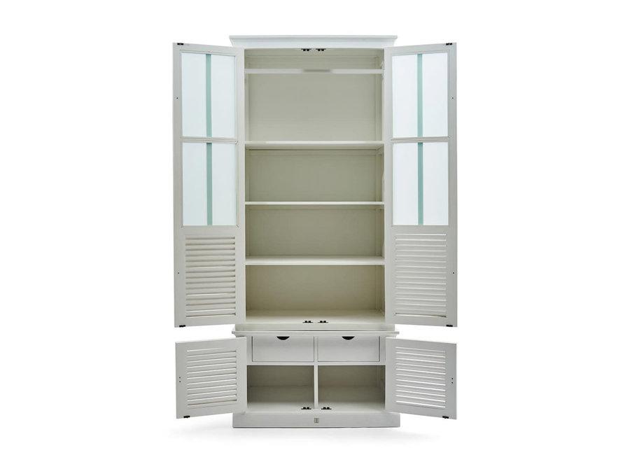 Biscayne Bay Wardrobe Cabinet Sgl