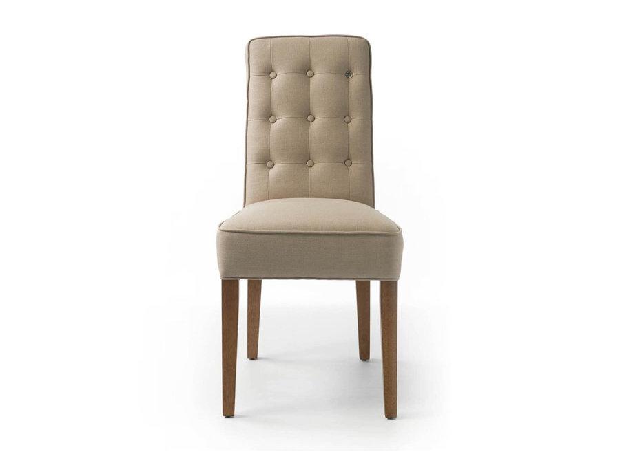 Cape Breton Dining Chair lin Flax