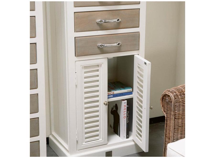 Long Key Chest Drawer/ Doors