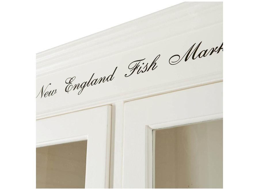 New England Fish Market Cabinet