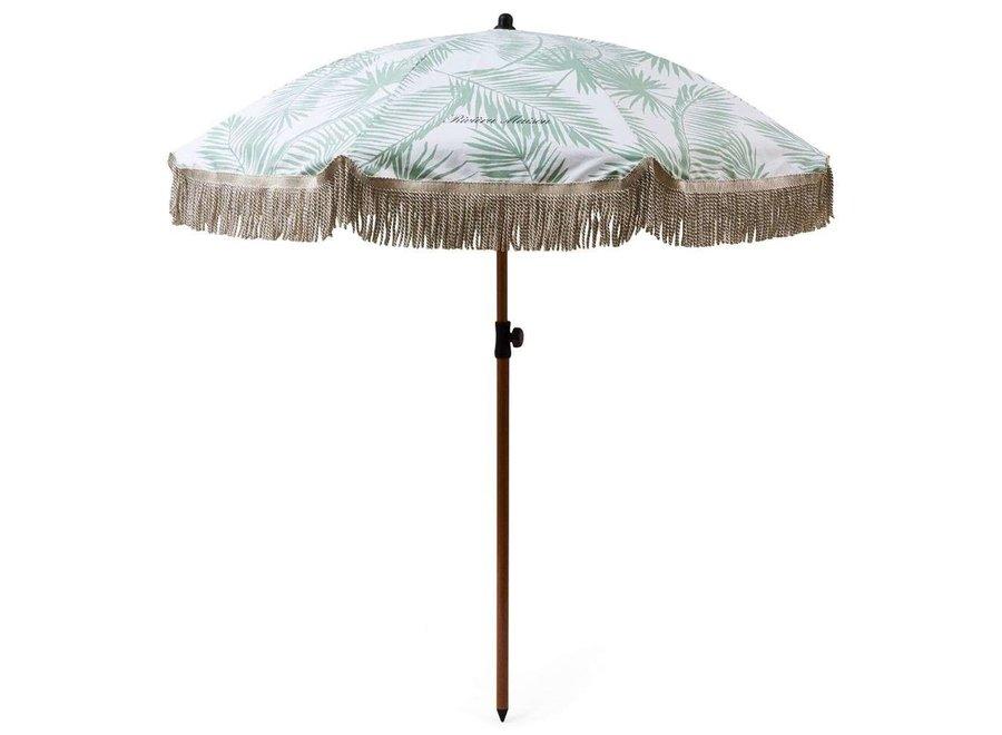 Tropical Palm Leaf Parasol