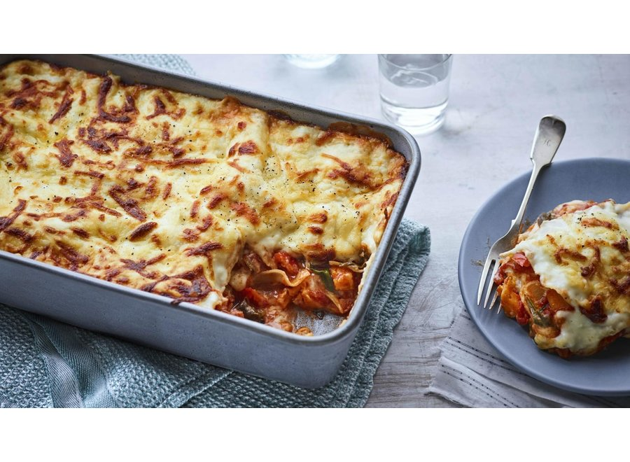 Veggie Lasagne -  Large, serves 8 portions