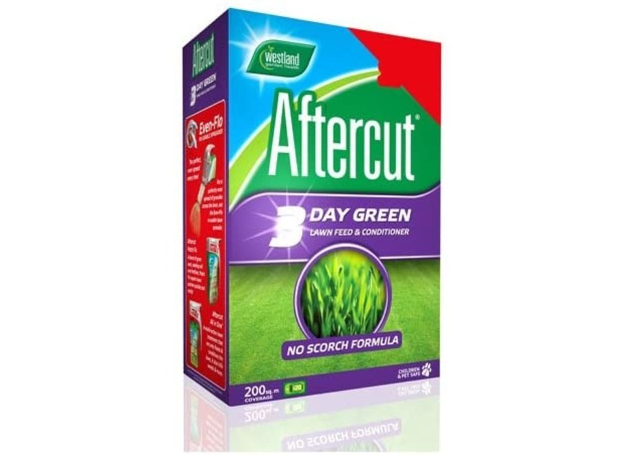 Aftercut 3 Day Green Lawn Feed Large Box (Non Flashed)
