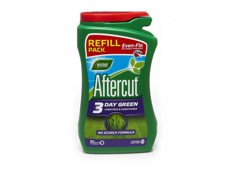 Aftercut 3 Day Green Lawn Feed Even Flo Refill
