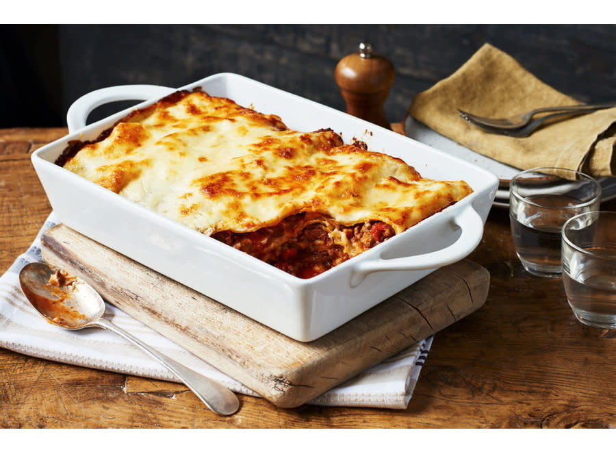 Beef Lasagne - Small Family Serving  Serves 4 Portions