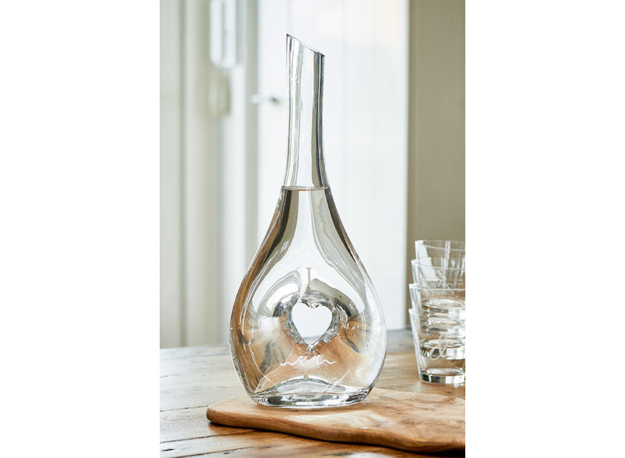 I Love You Decanter